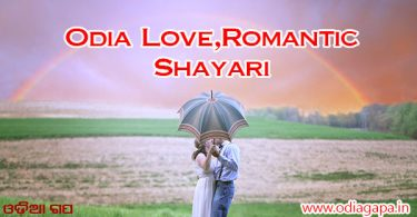 Odia Shayari- Love And Romantic Shayari Image Collection in 2020